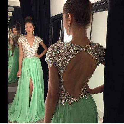 2016 Sexy Cheap A-line Prom Dresses..