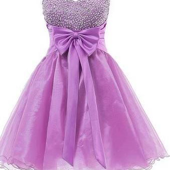 Organza Homecoming Dresses,Elegant ..