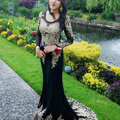 Women's Embroidery Lace Prom Dress ..