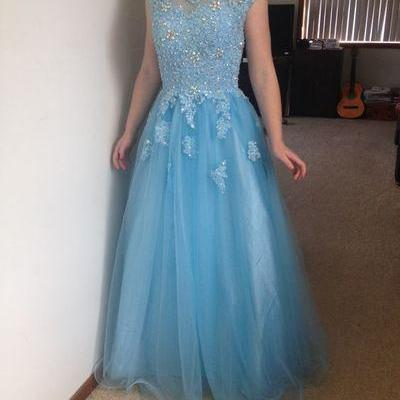 Charming Prom Dress,Tulle Prom Dres..