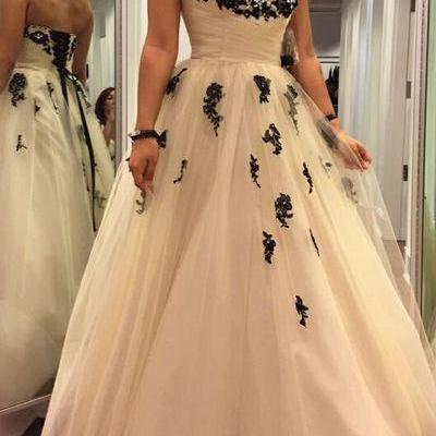 Charming Prom Dress,Sweetheart Prom..