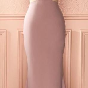 Dusty Rose Prom Dress,Mermaid Prom ..