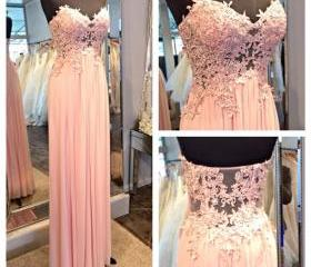 Chiffon Prom Dress,S..