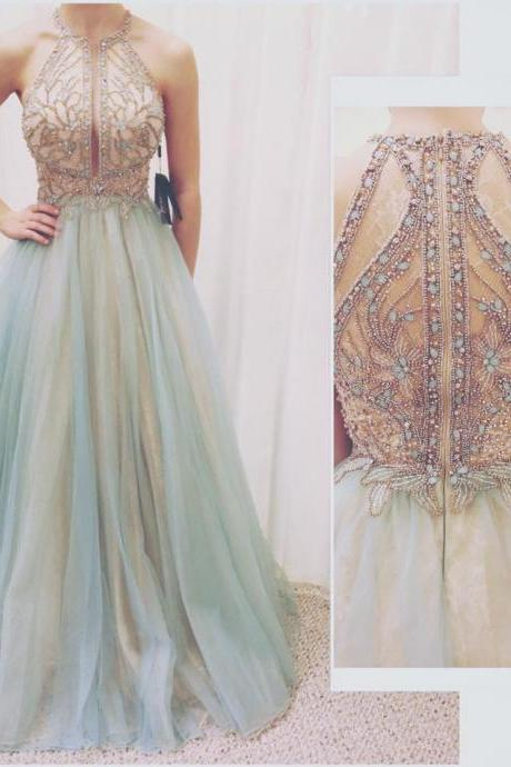 Beading Charming Prom Dress,Long Prom Dresses,Prom Dresses,Evening Dress, Prom Gowns, Formal Women Dress