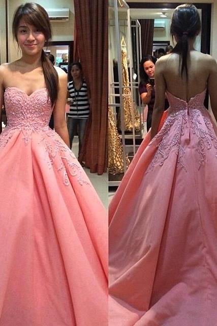 Charming Prom Dress,Long Prom Dresses,Ball Gown Prom Dress Evening Dress,Sexy Prom Party Dress