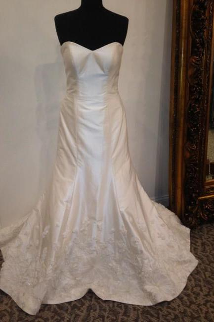 Ivory Formal Wedding Dress,PL0272