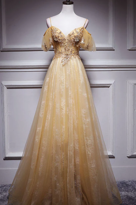 a line tulle Prom Evening Dress,PL1841