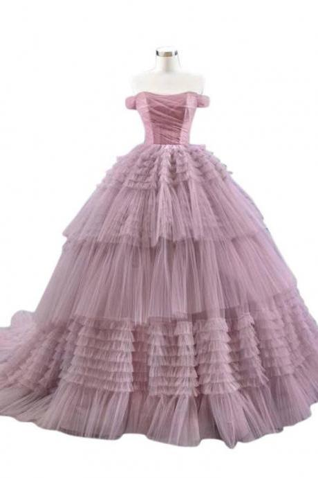 Designer Pink gown, ready to wear, wedding and party wear,PL2930
