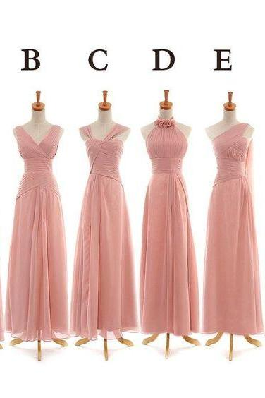 Custom made, Bridesmaid Dress,long Brides maid Dresses