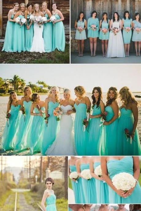 Wedding Colors For Summer ,Bridesmaid Dresses 2016,sexy sweetheart bridesmaid dresses