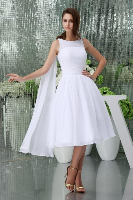 Chiffon Homecoming Dresses,Elegant Evening Dresses, Tea Length Cocktail Dresses, Pure 2016 Popular Homecoming Dresses