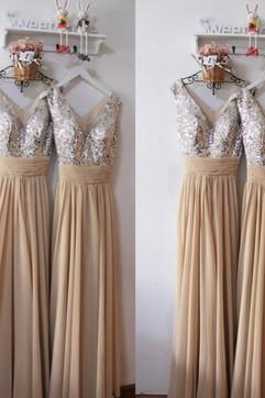 Charming Prom Dress,Chiffon Prom Dress,Sexy V Neck Party Dress,Long Prom Dress