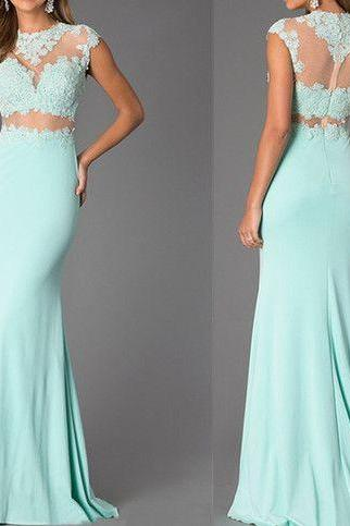 2017 Custom Made Dark Green Prom Dress,Sexy Beading Evening Dress,Sexy Open Back Party Gown, High Quality