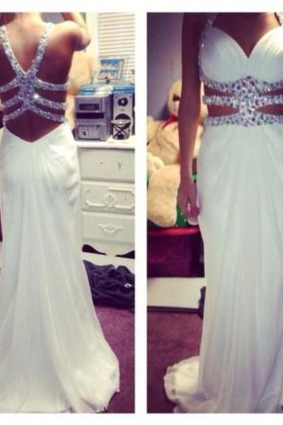 High Quality Prom Dress,Charming Prom Dress,Noble Prom Dress,Chiffon Prom Dress,Beading Prom Dress