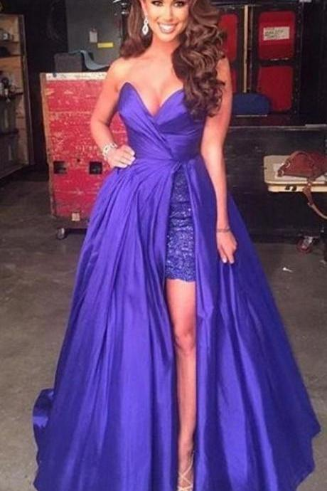 Charming Prom Dress,Satin Prom Dress,Sweetheart Prom Dress,A-Line Prom Dress