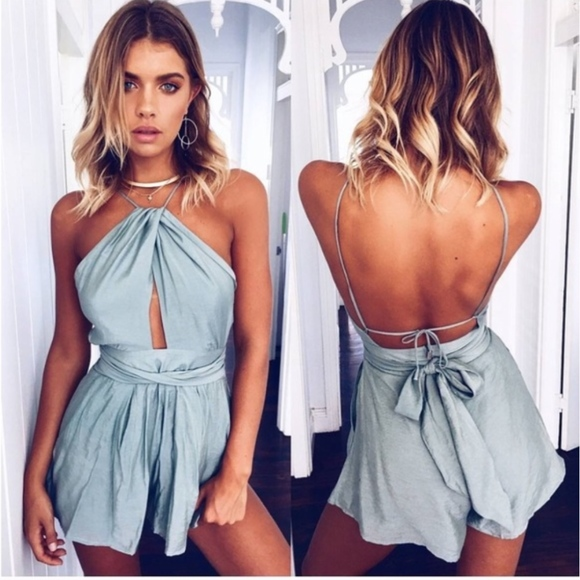 Sexy Homecoming Dresses, Simple Backless Short Party Dress