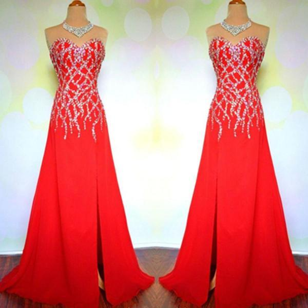 Prom Dresses,Evening Dress,Red Prom Dresses,Mermaid Prom Dress,Prom Dress,Prom Dresses,PL2959