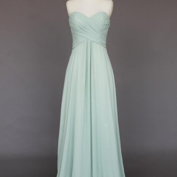 Cheap Empire Chiffon Bridesmaid Dress,A-line Sweetheart Prom Dress,Cheap Party Dress,Formal Evening Dress