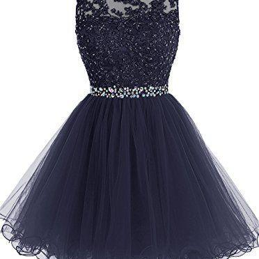 Charming Homecaming Dress, Sweetheart Homecaming Dress, Lace Homcaming Dress, tulle Homecaming Dress, Short Prom Dress, Cute Dress